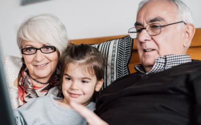 De rol van opa en oma